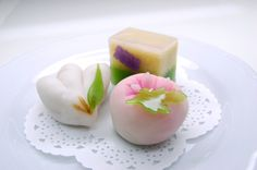 Springtime wagashi