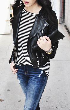 How to Wear a Moto Jacket | Fashion | Purewow
