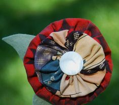 Make a Yo-yo Flower! Miss Sews-it-all