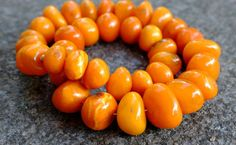81 Gramm Bernsteinkette baltic Amber necklace Königsberg butterscotch um 1930 | eBay