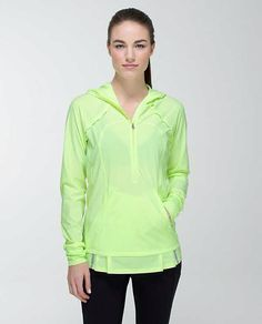 Lululemon Lightened Up Pullover Clear Mint Size 8 $128