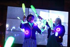 #Show #NeonLight #Circus #HoraDelPlaneta #EarthHour #PlazaFutura #TierraFutura
