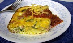 Easy egg casserole