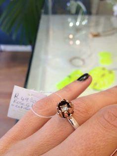 Rose gold Protea ring. Ida Elsje