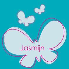 Geboortekaartje / birthcard Jasmijn  www.irisvantricht.nl