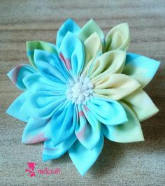 Rainbow Chrysant Brooch, only IDR 15000