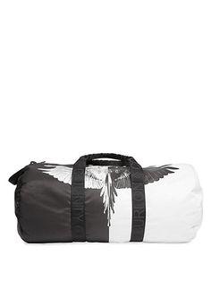 MARCELO BURLON COUNTY OF MILAN AISH GYM BAG.  marceloburloncountyofmilan   bags  lining  hand bags  nylon  cotton 95820e2461ad7