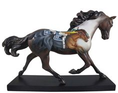 """Trail Of Painted Ponies Photo Finish Resin Figurine 6.5"""""""