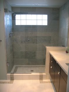 Bathroom Windows Block glass block shower window. check :) i will have a house with these