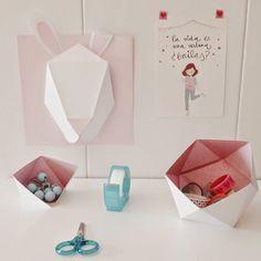 Handbox | Craft Lovers » Comunidad DIY: tutoriales y kits para todosDIY - CABEZA DE CONEJO - Handbox | Craft Lovers