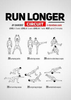 How to Run Faster or Run Longer #runningtraining