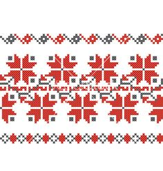 Bulgarian+embroidery+design+elements+vector+1915400+-+by+stefkay on VectorStock®