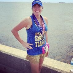 Fit Family Feature (Amber) A mother of 2 who has run 9 half-marathons! Half Marathons, Make Time, Tankini, Amber, Exercise, Running, Fitness, Fashion, Ejercicio