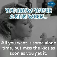 i think this why i never have alone time