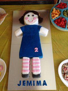 Jemima birthday cake