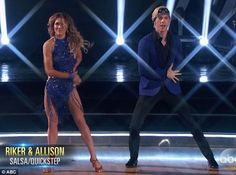 Perfect scores: Riker and Allison received perfect scores for their fusion dance Val Chmerkovskiy, Rumer Willis, Riker Lynch, Teen Beach, Professional Dancers, Dance Photos, Dancing With The Stars, Scores, Seasons
