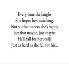 Just as I fell for his..