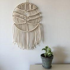 Circular Wave  Macrame and Metal Wall Hanging by amyzwikelstudio