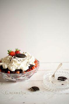 Oreo Erdbeer Trifle