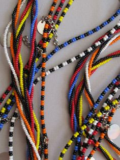 Maasai Beaded Necklace from Kenya