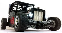 Watch this badass remote controlled Lego hot rod do donuts