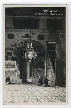 AK-Orsova-Ada-Kaleh-Moscheiului-Moschee-1934