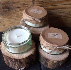 Beautiful soya vanilla candles