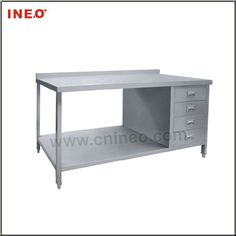 New Metal Kitchen Table With All Stainless Steel Commercial Kitchen ...