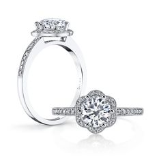 Our gorgeous S1085 ... MY RING!!!