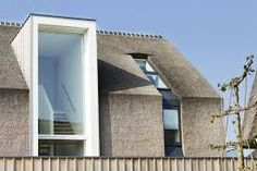 This Residential Villa In Arnhem In The Netherlands Showcases A Traditional  Solution For Modern Day Living. The Authentic Thatched Roof Covers Both The  Roof ...