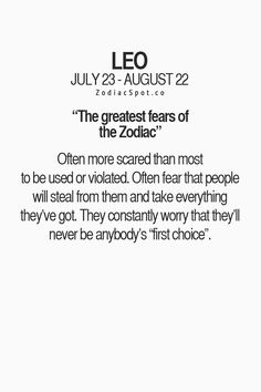 zodiacspot: What is your greatest fear? Find out here