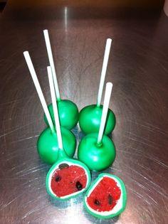watermelon cake pop recipe