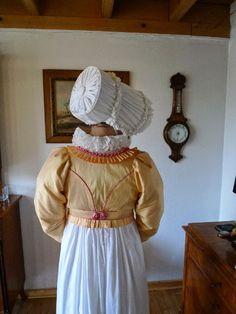 Kleidung um 1800: Nachschlag: Pfirsich-Himbeer-Torte!