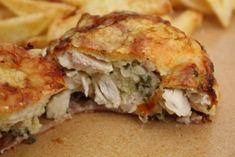 Muffin formában sült csirke - Szem-Szájnak Ketogenic Recipes, Diet Recipes, Vegan Recipes, Frango Chicken, Keto Dinner, Diy Food, Good Food, Food And Drink, Lunch