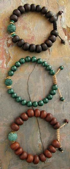 These mala bracelets are beautiful!!