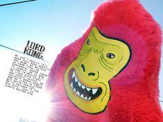 kong - TOLOACHE - art toys - Mexico - hecho a mano - hecho en Mexico
