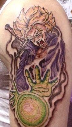 #Truks #Tattoo #Anime