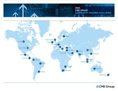 January 23, 2014: Last year, teams from 26 countries were represented in our commodity #tradingchallenge.