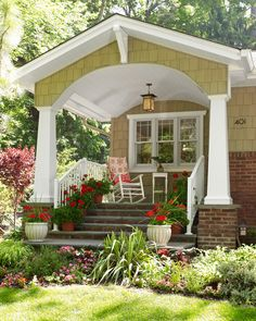 Love the windows.  Get the Look: Arts and Crafts-Style Architecture   Traditional Home