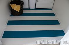 paint tile floor before and after - Google Search