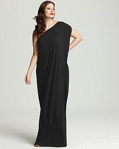 31728bc2afe6a Rachel Pally White Label Plus Size Ophelia One Shoulder Maxi Dress Women -  Plus - Dresses - Bloomingdale s