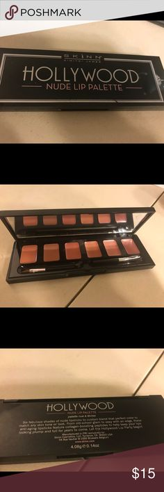 Skinn dimitri james Hollywood Nude lip palette Skinn dimitri james Hollywood Nude lip palette , pre-owned. Thanks for checking out Luxury1cosmetics!! Offers are welcomed, bundles are discounted!! dimitri james Makeup