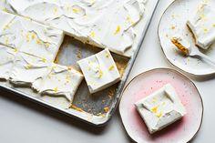 Recipe: No-Bake Sheet Pan Lemon Yogurt Tart — Easy Dessert Recipes