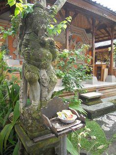 Ganesha Garden Altar - Bali Modern Tropical, Tropical Garden, Balinese Garden, Tropical Architecture, Stone Statues, Denpasar, Altars, Courtyards, Ubud