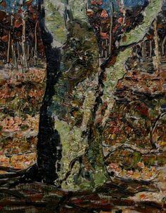 Tree -  Jan Adam Zandleven, 1918. Dutch, 1868-1923... - Cozyhuarique