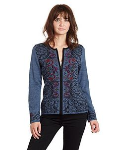 Product review for Invisible World Women's Baby Alpaca Reversible Cardigan Arabesque.  Reversible sweaters have long been a favorite at Invisible World, with good reason. Not only are they soft, silky and durable, as is all baby alpaca, but you really can wear both sides of this cardigan, giving you two entirely different looks. Color-side out for more casual wear, and black for...
