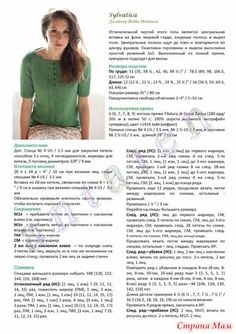 """Photo from album """"+Sylvatica by Robin Melanson - twist collective spring/summer on Yandex. Knitting Paterns, Knitting Charts, Lace Knitting, Knit Crochet, Lace Patterns, Dress Patterns, Summer Knitting, Pulls, Robin"""