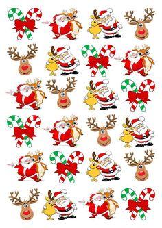 Cake Craft And Decoration Download Free : Christmas Printables 4 on Pinterest Christmas Printables ...
