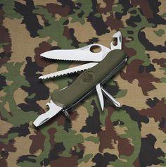 Victorinox Messer Schweizer Taschenmesser Soldatenmesser BW Mit Adler