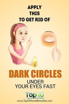 Easy, Mind-Blowing Remedy To Get Rid Of #Dark #Circles Under Your Eyes Fast
